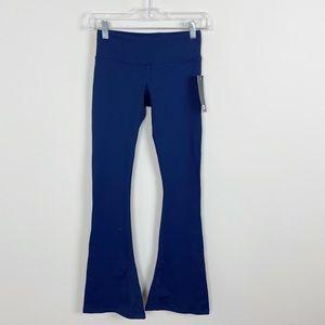 Splits59 Raquel Flare Performance Leggings Blue